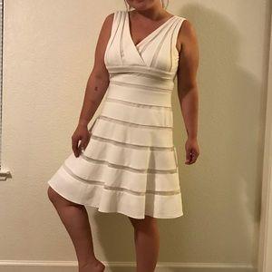 Impeccable quality white dress
